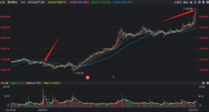 贵州茅台股票600519在2020年价格走势