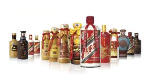 Kweichow Moutai Baijiu product series